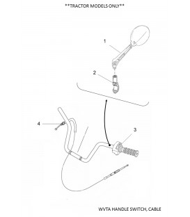 WVTA HANDLE SWITCH, CABLE