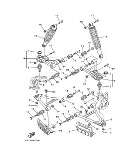 SUSPENSION AVANT & ROUE