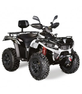 QUAD HY 570 IS E4 4X4 EFI BLANC NOIR diferentiel av et ar TREUIL INJECTION