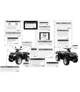 AUTOCOLLANTS DE SECURITE