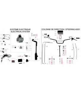 SYSTEME ELECTRIQUE - COLONNE DE DIRECTION