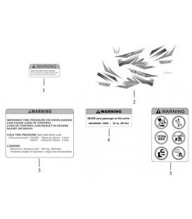 AUTOCOLLANTS - BACHE DE PROTECTION